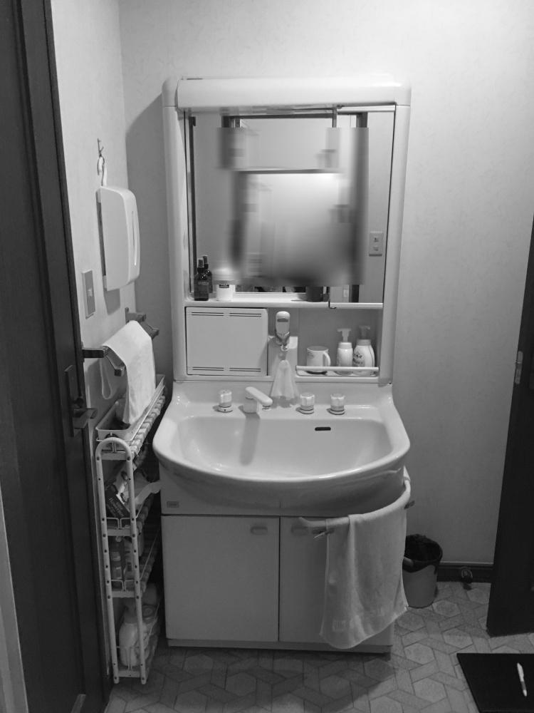 泉区S邸 洗面化粧台リフォーム 50万円/工期3日間 施工前