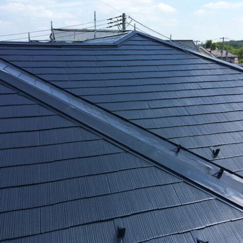 塗装で新築のような屋根にリフレッシュ!