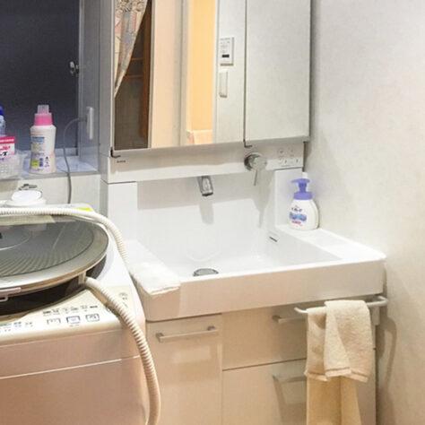 使いづらかった洗面台をリフォームして快適空間に✨