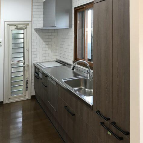 キッチンをリフォームして使いやすく快適空間に✨