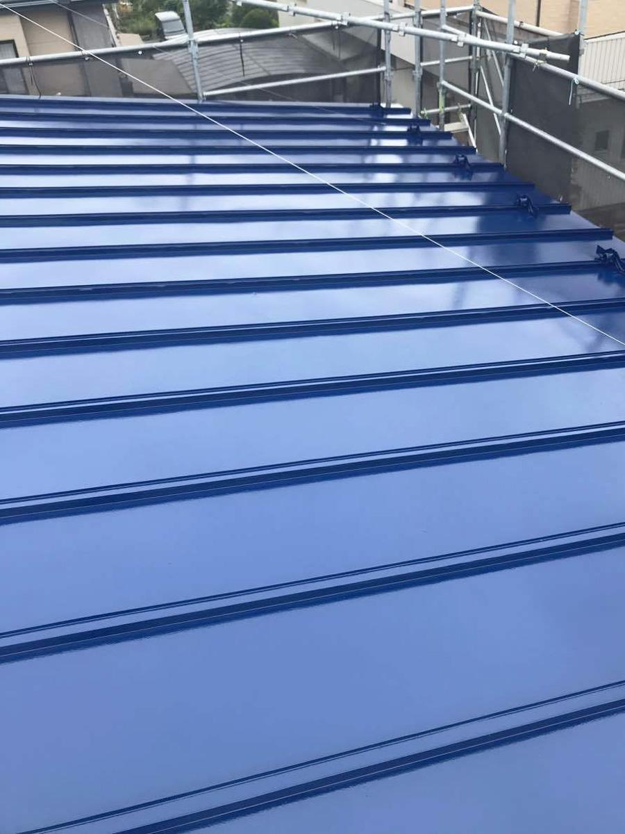 若林区G邸 屋根塗装工事 約80万円/工期7日間 施工後