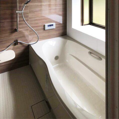 掃除もしやすくなって快適に😊お風呂リフォーム