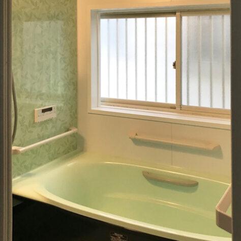 爽やかな雰囲気に一新🛁浴室リフォーム