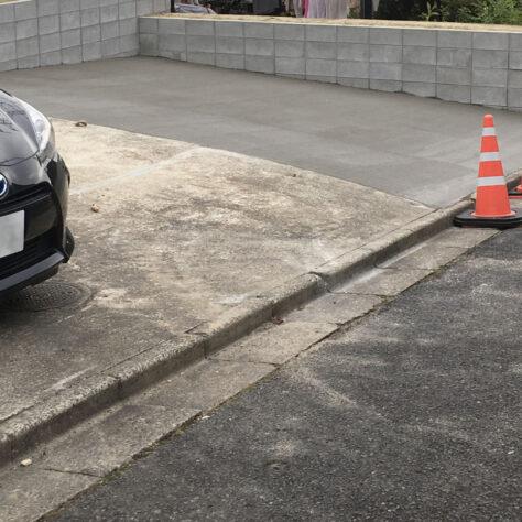 植栽も整えて広々駐車場へ🚗エクステリアリフォーム