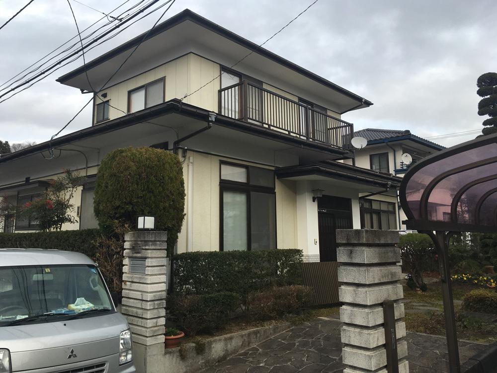 泉区Y邸 外装リフォーム 147万円/工期20日間 施工前