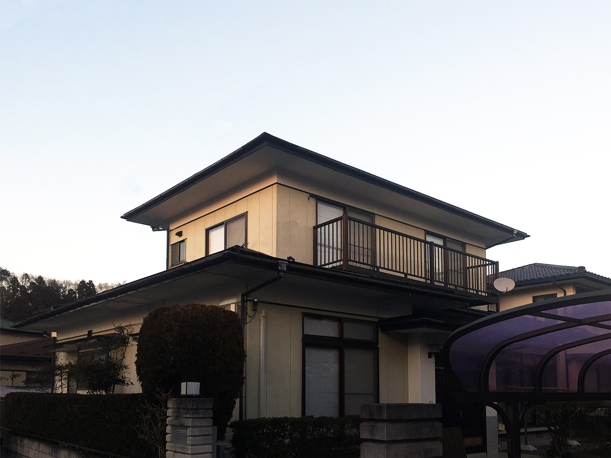 泉区Y邸 外装リフォーム 147万円/工期20日間 施工後