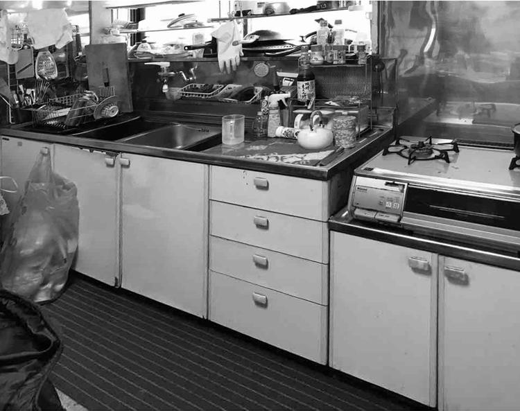 南相馬市U邸 キッチンリフォーム 106万円(内装工事費含む)/工期9日間 施工前