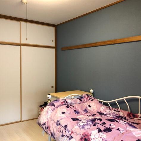 和室から洋室に、クロスも変えてお気に入りの空間に✨