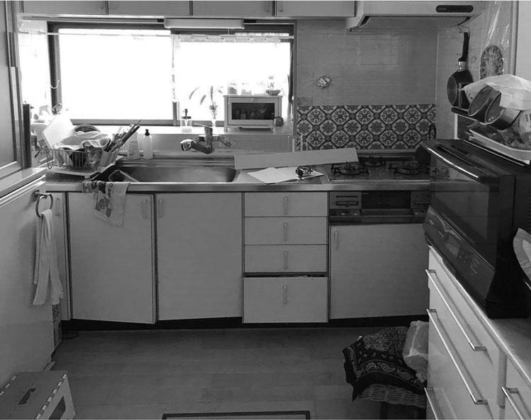 太白区O邸 キッチンリフォーム 137万円/工期4日間 施工前