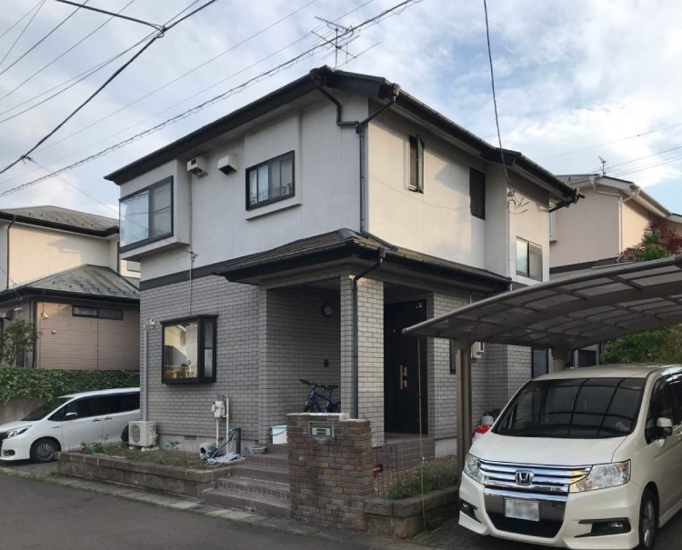S邸 外装リフォーム 約100万円/工期14日間 施工前