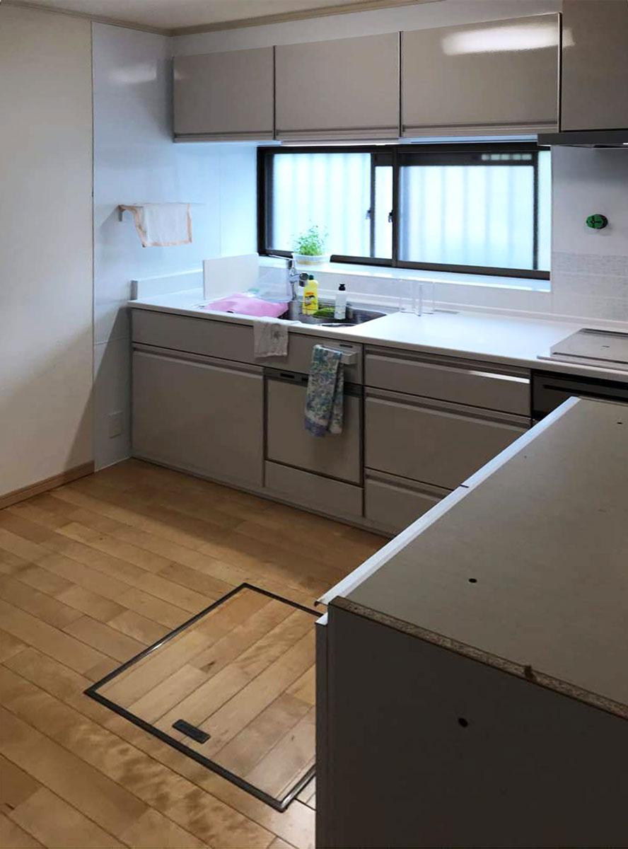 太白区O邸 キッチンリフォーム 137万円/工期4日間 施工後