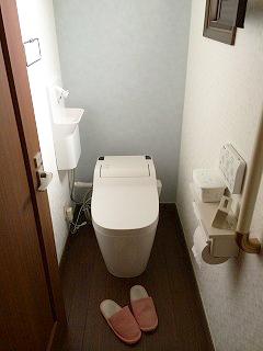 2階トイレ施工後