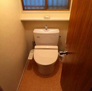 トイレあと